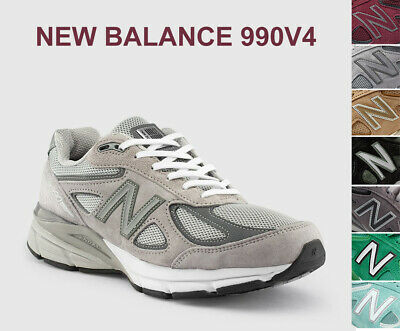 New Balance 990V4 Mens Shoes Medium Wide Sneakers Made in USA Original Shoes NEW