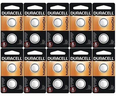 Usado, 20 x 2032 Duracell Coin Cell Batteries - Lithium 3V - (CR2032, DL2032, ECR2032) comprar usado  Enviando para Brazil