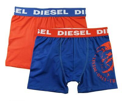 Diesel Boys' Navy & Red 2 Pack Performance Boxer Brief Size S M L XL