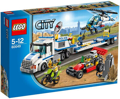 LEGO City Police Helicopter Transporter (60049) Complete Set with instructions