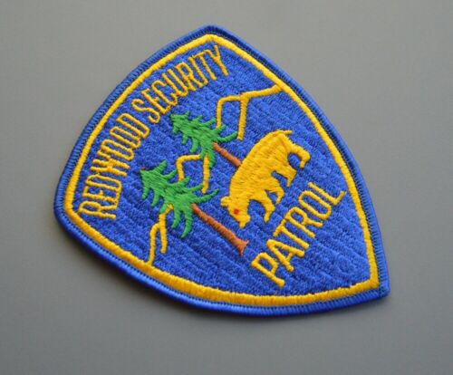 Redwood California Security Patrol Patch