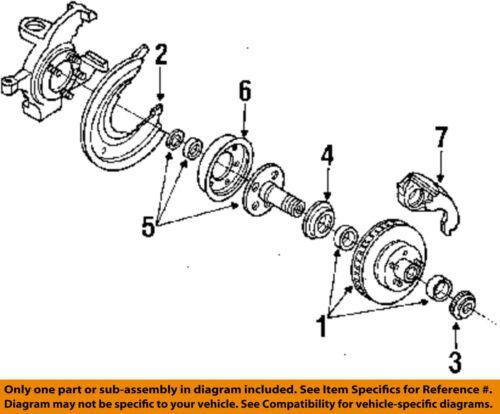 Details About FORD OEM Ranger Disc Brake Front Backing Plate Dust Splash Shield FOTZ2K004A