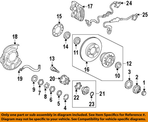 toyota oem 93-98 t100 brake-front-bearing flange gasket ... 93 t100 transmission diagram