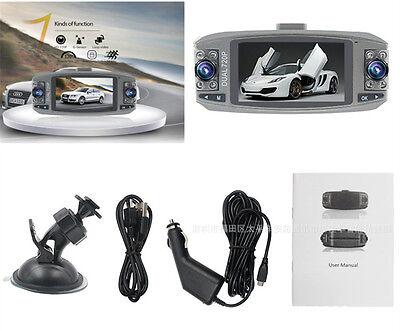HD Dual Lens Portable Recorder Car Dash Cam G/sensor Night Vision Video Output