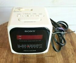 SONY ICF-C121 Dream Machine Cube AM/FM Radio Alarm Clock