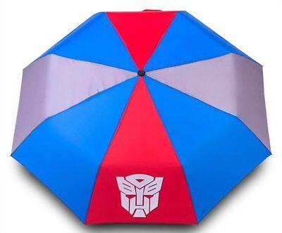 Finex Transformer Autobots Logo Manual Tri-fold Folding Compact UV Umbrella Boys