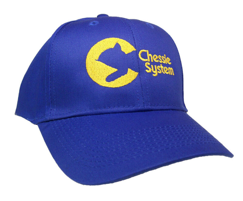 Chessie System Railroad Embroidered Cap Hat #40-0035rv