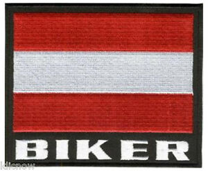 Austria-Biker-Embroidered-Patch-5-x-31-4-12-x-8-5CM