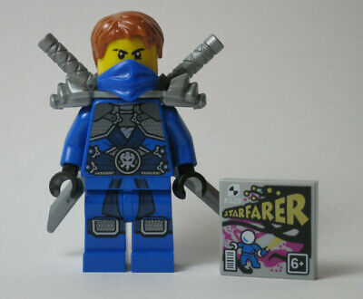 NEW Jay Rebooted Stone Armor Starfarer fm Exclusive Book Ninjago LEGO Minifigure