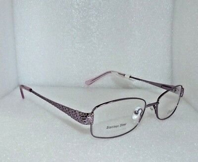 NEW NEW YORK EYE ENHANCE EN3883 LILAC PURPLE EYEGLASSES GLASSES FRAMES 53-18-140