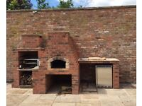 Semi skilled laborer/handy person/good all rounder to make concrete/ brick pizza ovens and admin