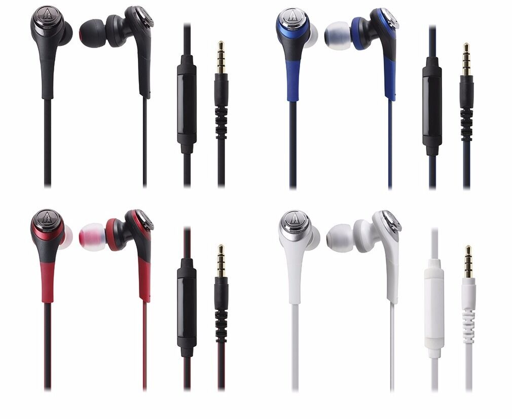 audio technica ATH-CKS550iS In-Ear Headphones Remote/Mic for