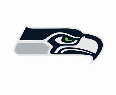 Seattle Seahawks Nfl Football Color Logo Sports Decal Sticker   Free Shipping