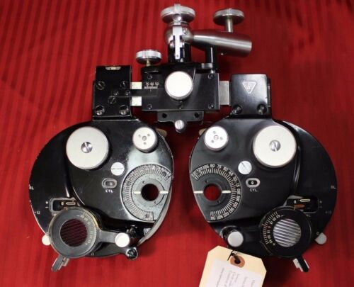 B & L Greens Refractor/Phoropter PLUS CYLINDERS-SALE-Reduced!