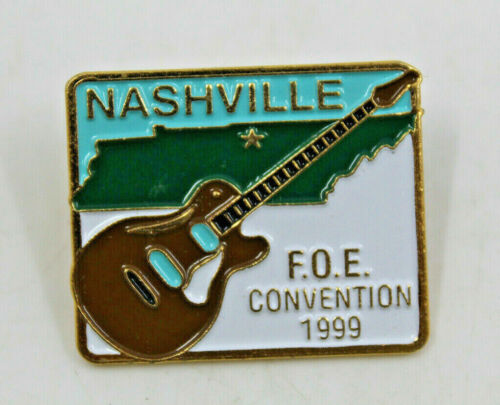 FOE Convention 1999 Nashville Fraternal Order of Eagles Collectible Pinback Pin