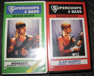 Superchops 4 Bass: Workout! & Slap-Happy Instructional Videos