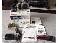 Canon EOS 300D Digital SLR Camera [6.3MP] w/ EF18-55mm Lens