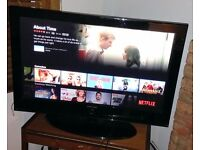 "Samsung Plasma TV 720p HD 42"" with HDMI"