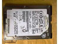 "Hitachi Travelstar 40Gb2.5"" sata harddrive HTS541040G9SA00 Tested /Working"