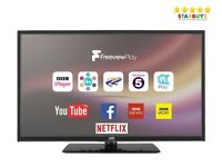 TV Smart JVC Hardly Used LT24C680 Freeview 720p HD 24 inches Collection Only!