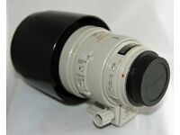Canon EF 100-400mm f4.5-5.6L IS USM with Lens Case LZ1324 & Lens Hood ET-83C