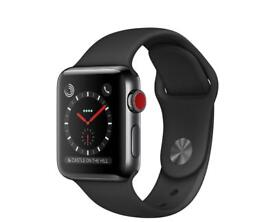 Apple Iwatch sport black series 3