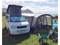 2004 Volkswagen T5 Transporter 4 Berth Campervan with Airbeam Awning