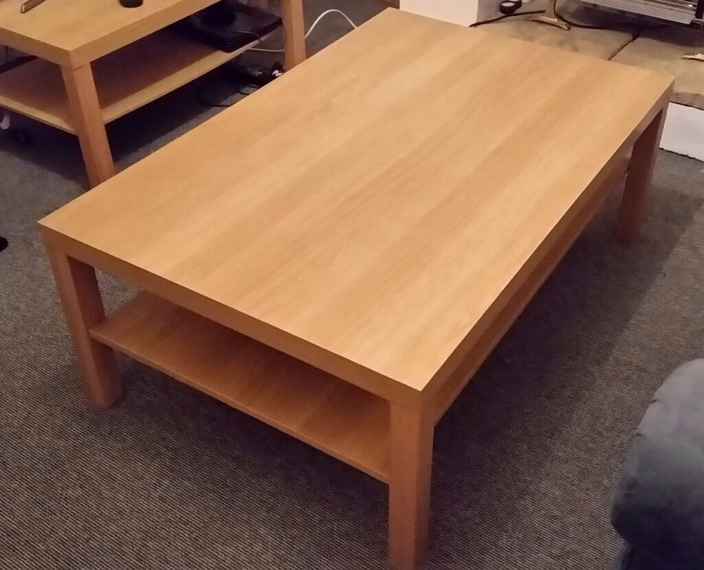 Ikea Lack Large Coffee Table 118 X 78cm Oak Effect Reduced Now