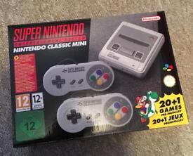 Super Nintendo (SNES) classic mini