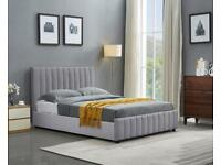 Furniture makes home-Double and King Size Lucy Ottoman Storage Bed Frame in different Color Choices
