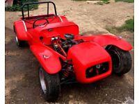 Kit Car, Cortina base car, 1300 crossflow engine, Needs Finishing
