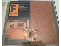 Cork floor tiles - pack of 6
