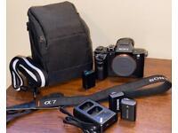 Sony Alpha A7R II 42MP Mirrorless Camera(Body Only - NO Original Box) + more...