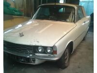 1972 Rover V8 convertible for sale - for restoration