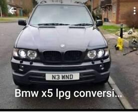 BMW x5 lpg conversion