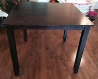 Bar height table - no chairs