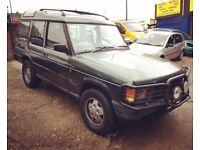 1994 Land Rover Discovery V8I. Project car.