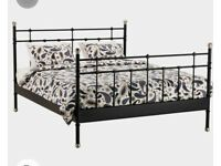 King size Ikea bed frame,