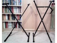 Two keyboard stands