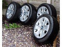 BMW Winter tyres - 195/55/R16 87H BLIZZAK LK-25