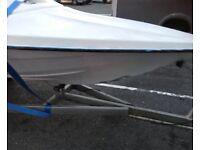 18 ft boat trailer custom built 4 years ago