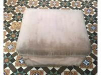 A very elegant and comfortable classic Pouffe, Ottoman, Footstool