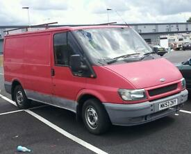 Bargain 2003 transit van low mileage