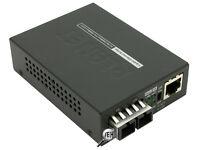 NEW Planet GT-802 Fibre to Ethernet Converter