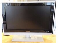 Phillips 26 inch LCD HDTV flat screen television with remote