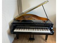 Yamaha G1 (C1) Professional Japanese Baby Grand Piano - Black High Gloss - Delivery