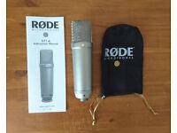 RØDE NT1-A Microphone + Accessories