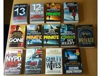 Various war/thriller books