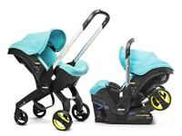 Doona push chair/car seat from birth onwards