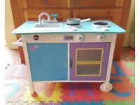 Plum kids wooden toy kitchen
